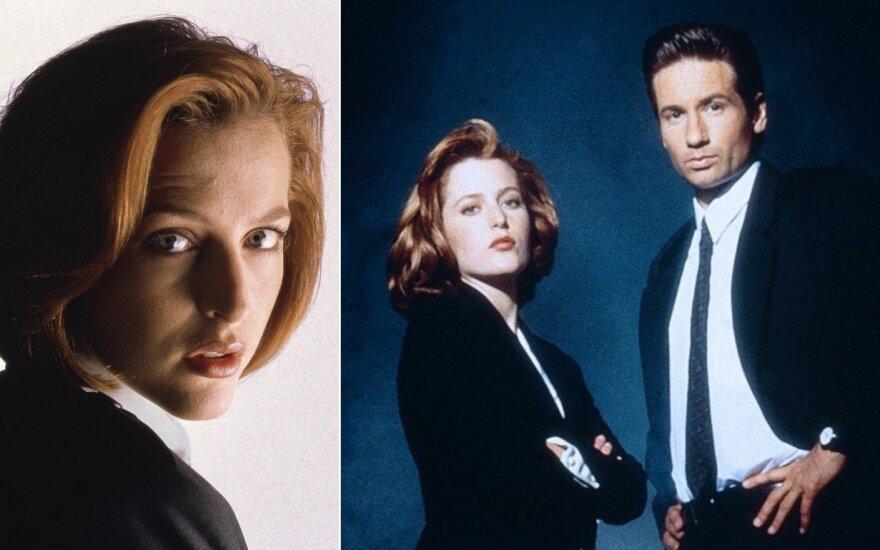 "Gillian Anderson, serialas ""X failai"""