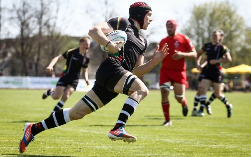 Rugby Union: Lithuania display dominance