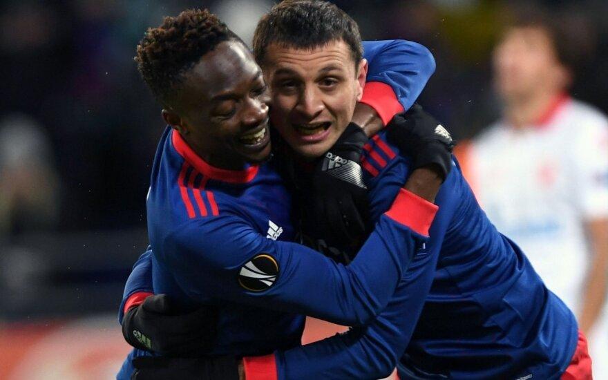 Šaltį ir varžovų atakas atlaikęs CSKA žengė į UEFA Europos lygos aštuntfinalį