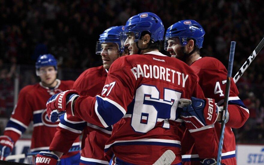 """""""Canadiens"""" ledo ritulininkai"""
