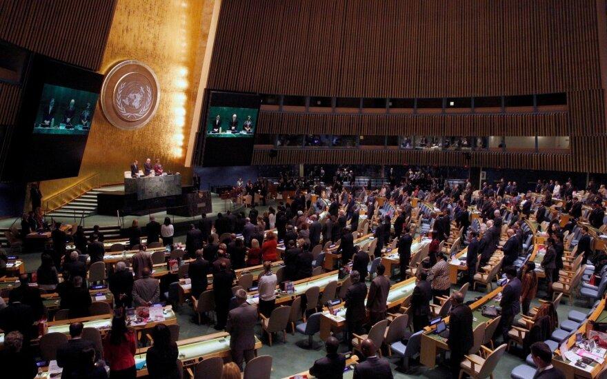 JT Generalinė Asamblėja pareiškė susirūpinimą dėl Krymo militarizavimo