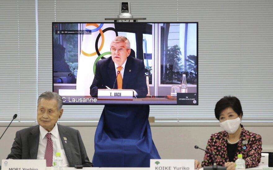 Bachas: tikimės, kad kitų metų pradžioje pasaulis turės vakciną nuo koronaviruso ir Tokijo olimpiada įvyks