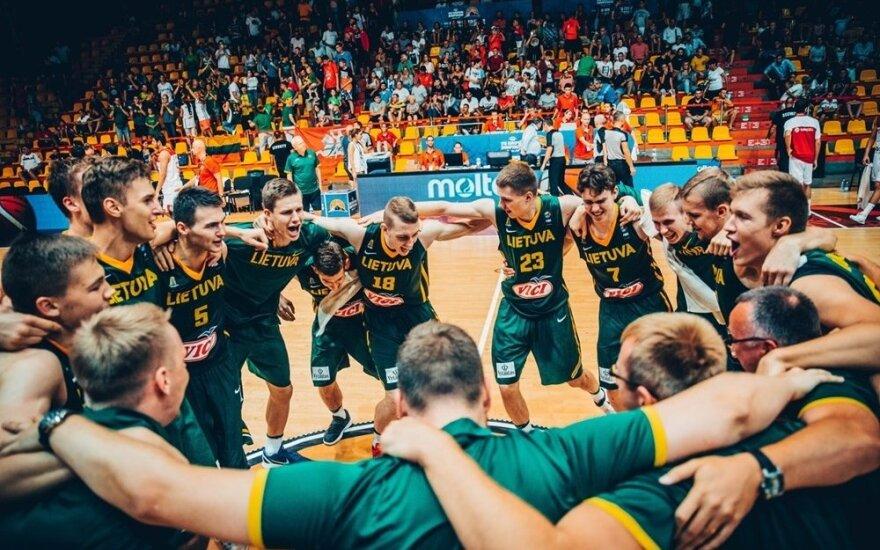 Lietuvos U18 rinktinės triumfas