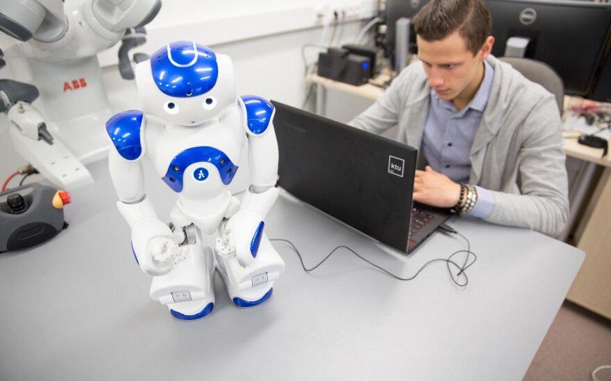 Robotizacija jau vyksta