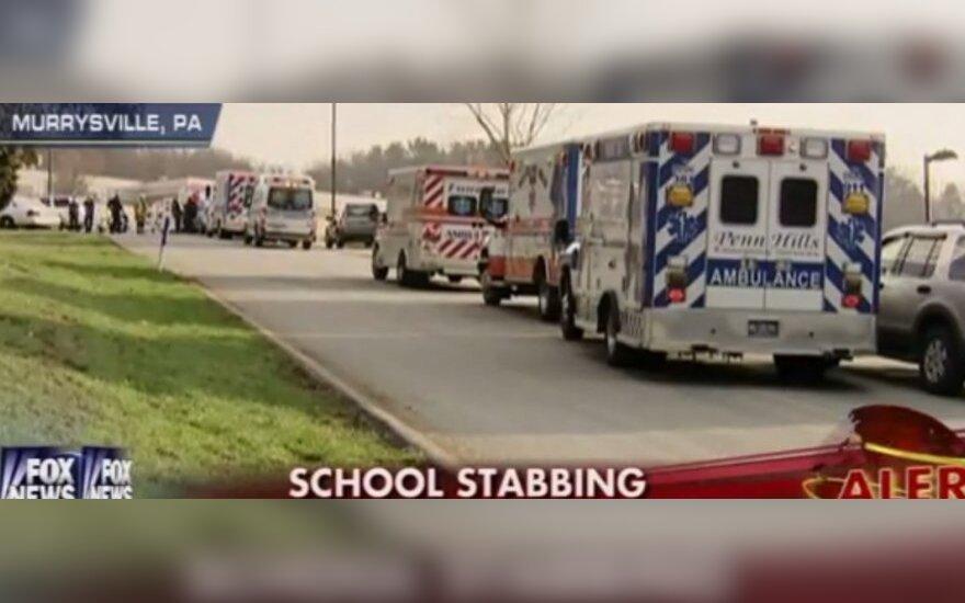 Pensilvanijos mokykloje subadyta 20 mokinių