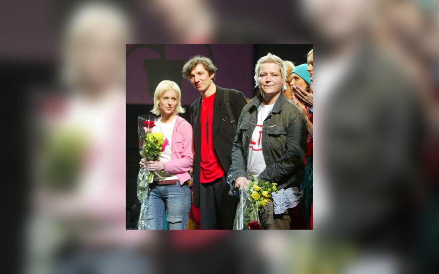 J.Rimkutė ir I.Ševiakovaitė