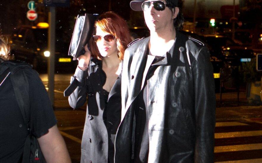 Marilynas Mansonas atskrido į Vilnių