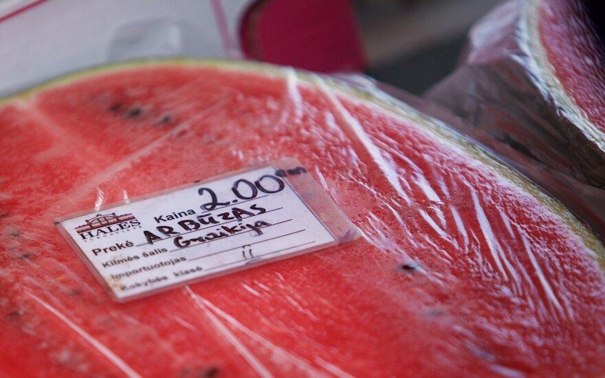 Keli triukai, padėsiantys išsirinkti skanų arbūzą