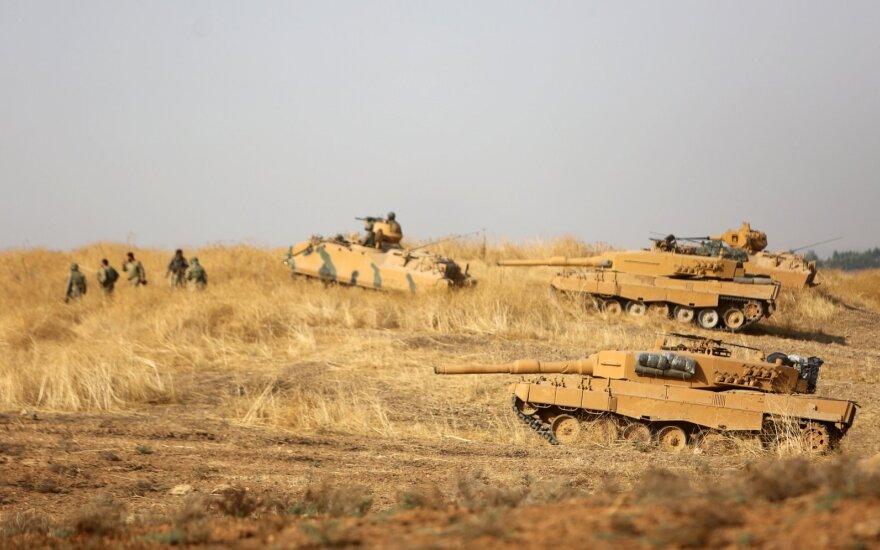 Turkijos remiami Sirijos kovotojai