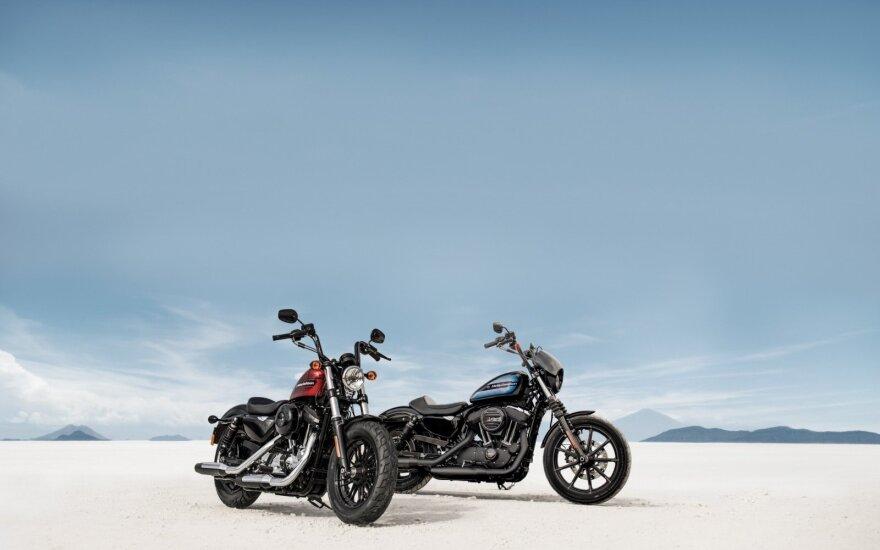 """Harley-Davidson Iron 1200"" ir ""Harley-Davidson Forty-Eight Special"""