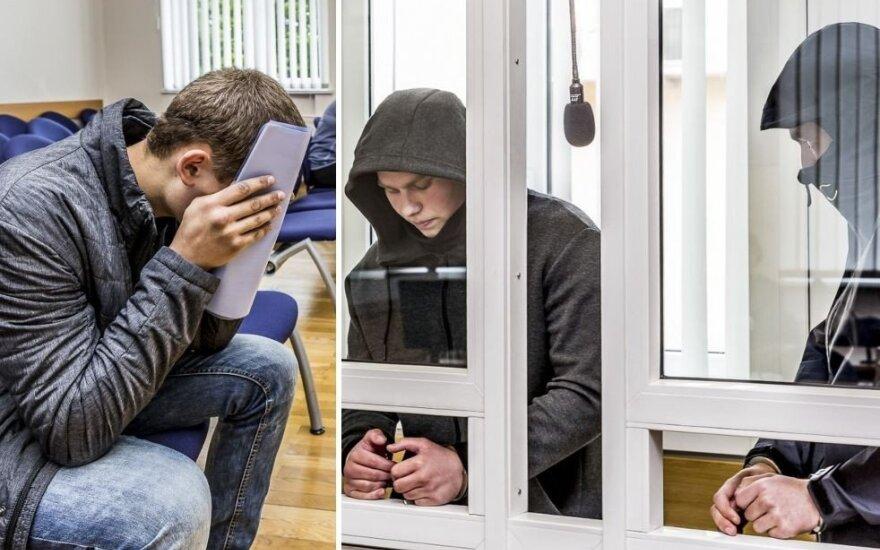 Jauną vyrą Panevėžyje uždaužiusiems nusikaltėliams – laisvės atėmimo bausmės