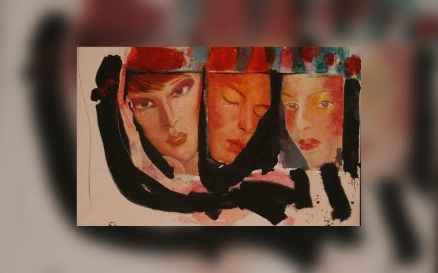 """Vaidotas Žukas """"Trys veidai"""" 2007"""