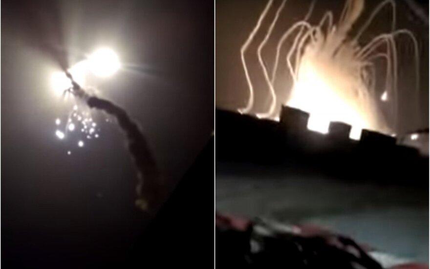 Vaizdo įraše – Rusijos raketos nesėkmė