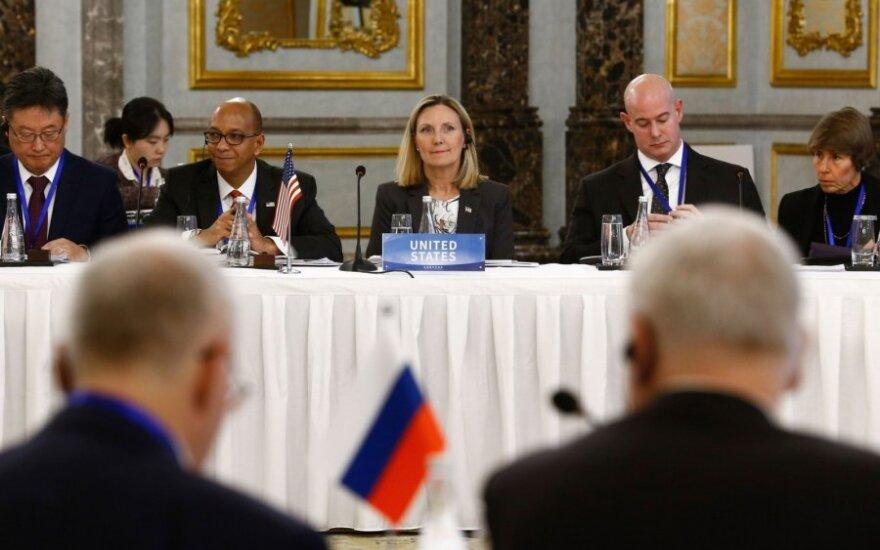 JAV valstybės sekretoriaus pavaduotoja ginklų kontrolės ir tarptautinio saugumo klausimais Andrea Thompson