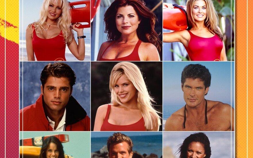 """""""Gelbėtojai"""" žvaigždės prieš tris dešimtmečius ir dabar: kaip pasikeitė kultinio serialo aktoriai?"""