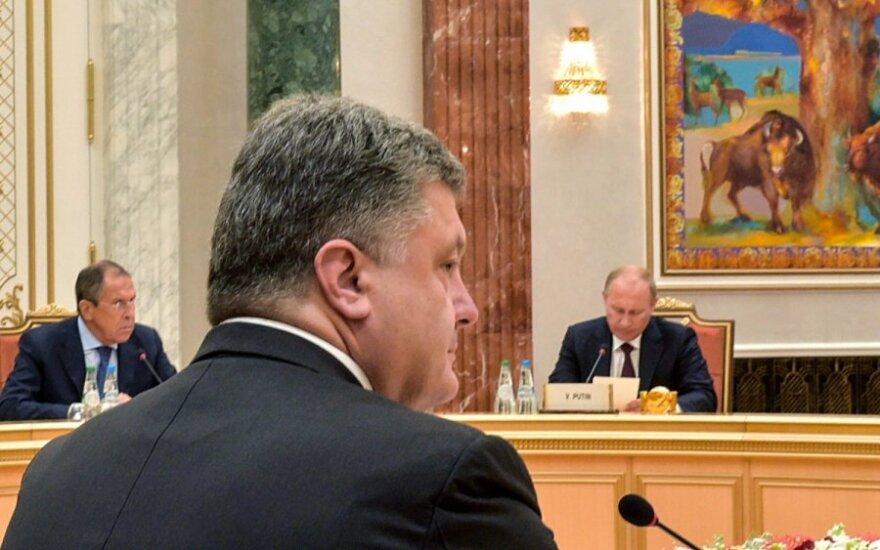 Sergejus Lavrovas, Petro Porošenka, Vladimiras Putinas