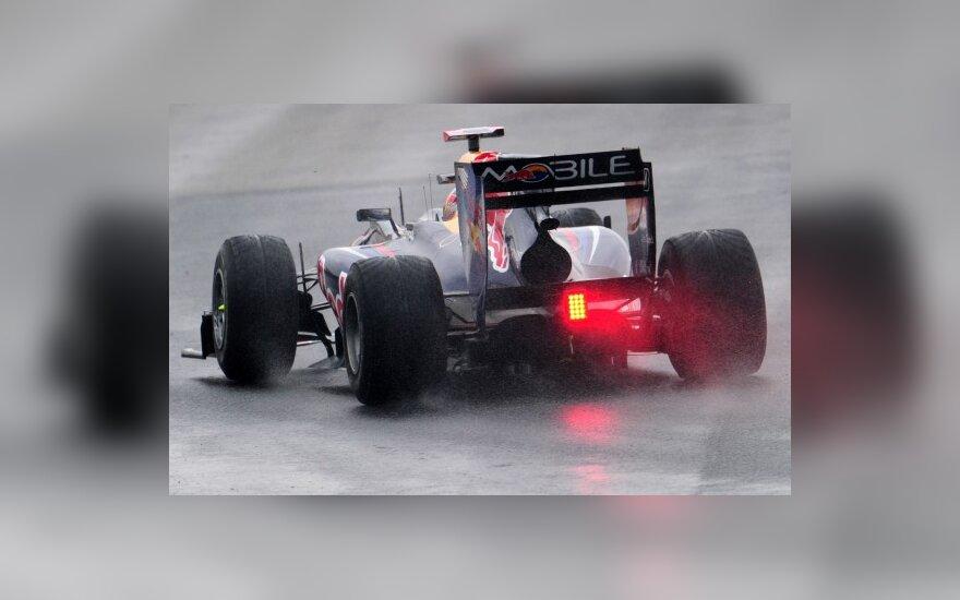 Sebastianas Vettelis trasoje