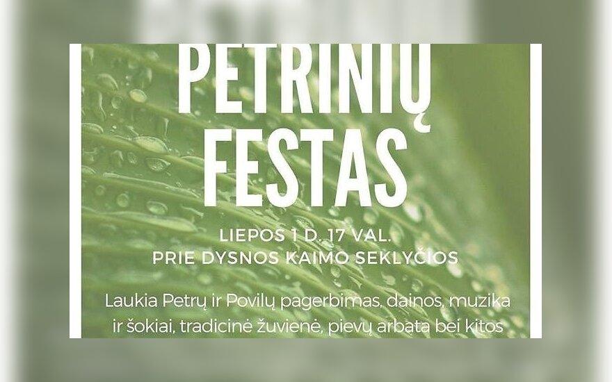 Baltarusijos apsuptyje esantis Navikų kaimelis kviečia į Petrines