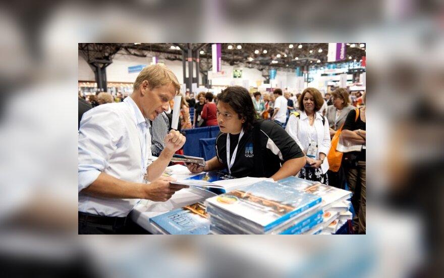 """M. Jovaiša knygų mugėje """"Book Expo America"""""""