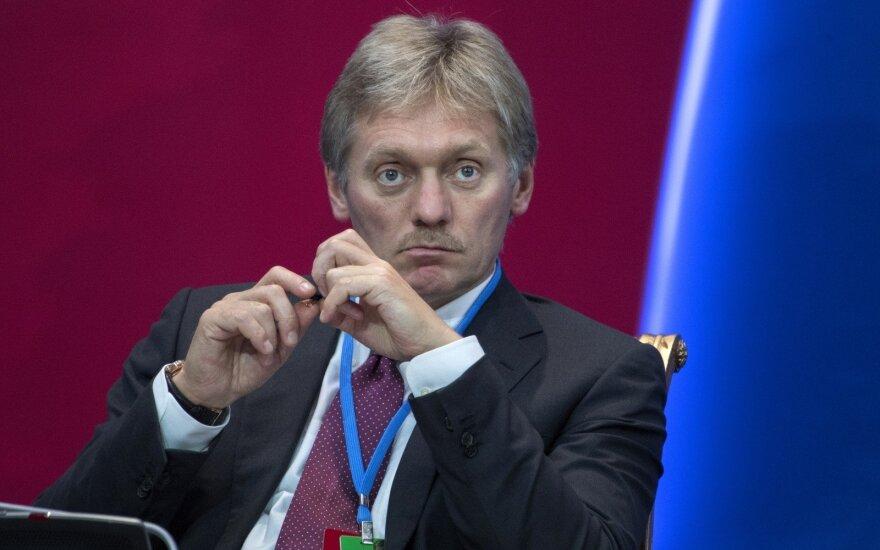 Kremlius: neplanuojame viešai skelbti, apie ką derybose kalbės V. Putinas ir D. Trumpas