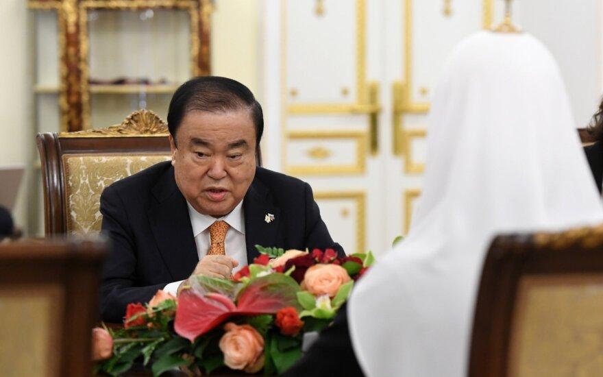 Vilniuje vieši Korėjos parlamento pirmininkas