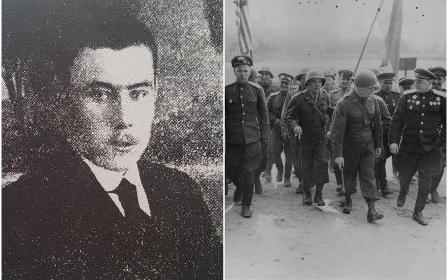 Koliažas, Alekandras Vainauskas / Rusijos armijos kariai