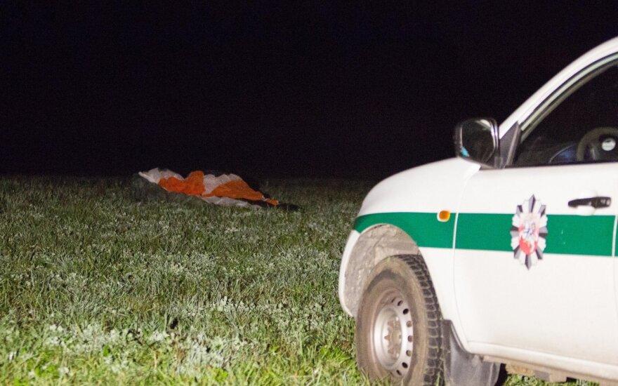 Šeštadienio vakarą Vilniaus r. nukrito parasparnis, žuvo jaunas vyras