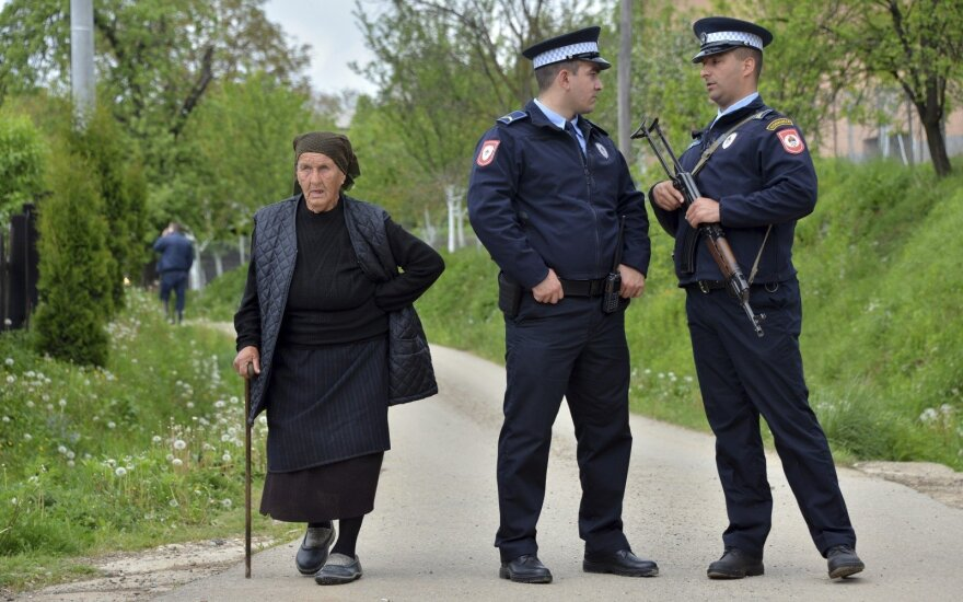 Bosnijos policija