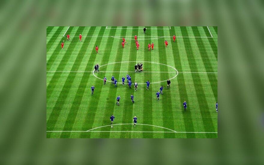 Futbolas, futbolo aikštė