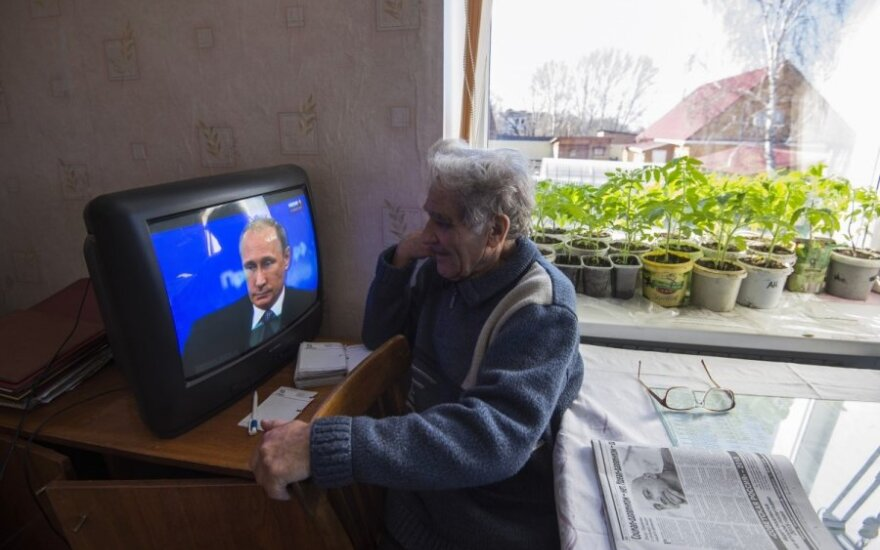 Brussels backs Lithuania over Russian TV channel ban