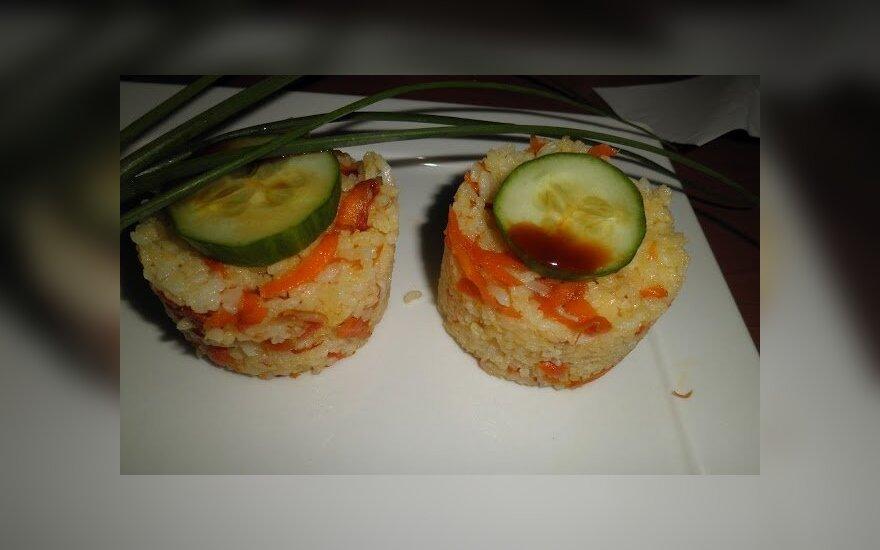 Japonų virtuvės skanumynas - Onigri