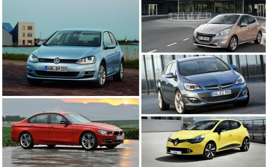 Populiariausi automobiliai