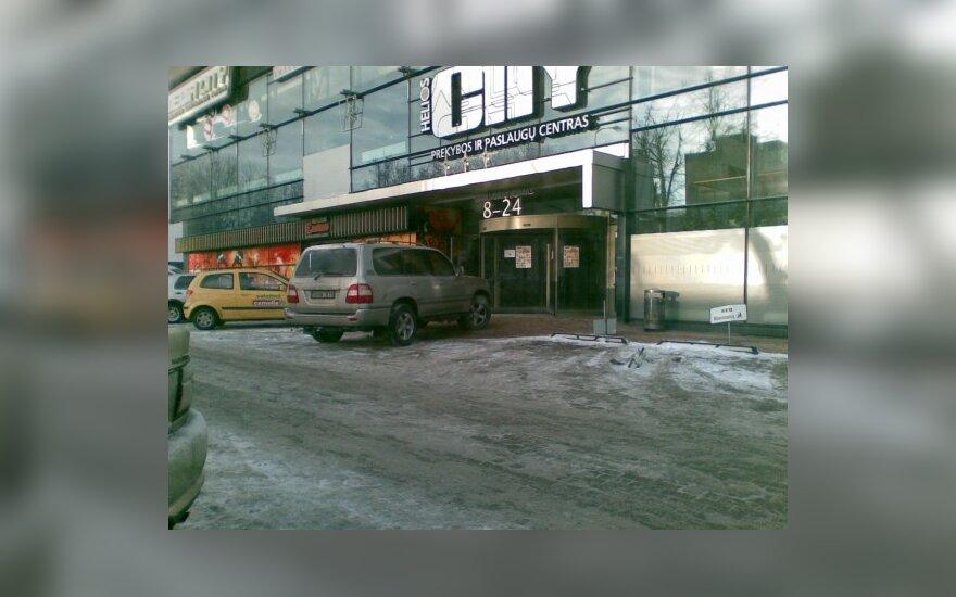 """Vilniuje, prie """"Helios City"""". 2010-01-04, 10.18 val."""