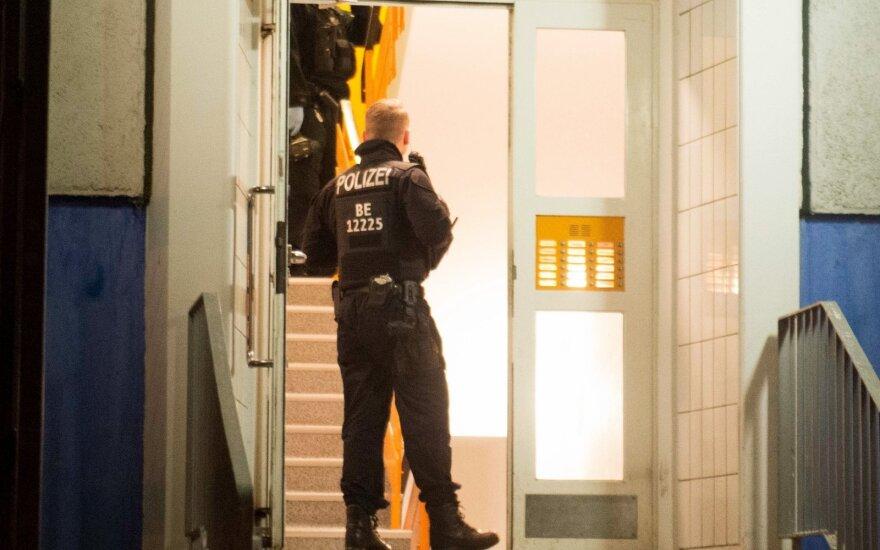 Vokietijos policija atliko kratas pas įtariamus čečėnų islamistus