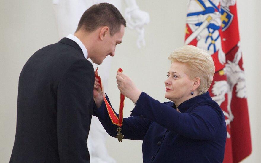 Paulius Jankūnas, Dalia Grybauskaitė