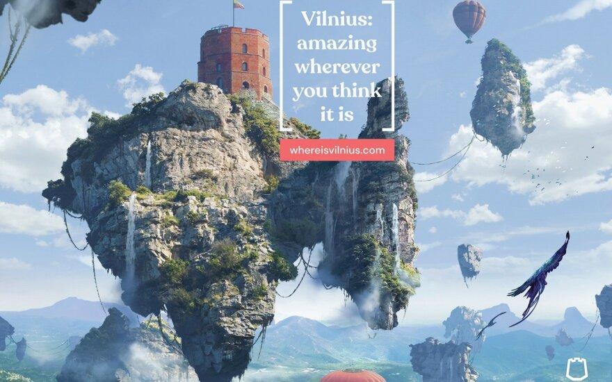 Įvertinkite: menką Vilniaus žinomumą pasaulyje pavertė šmaikščiu privalumu