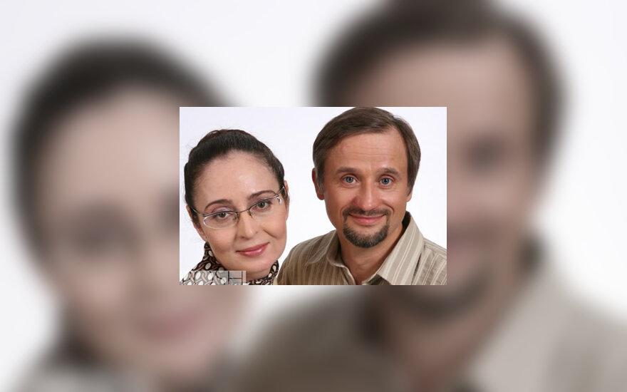 Palmira Kelertienė, Ginas Dabašinskas