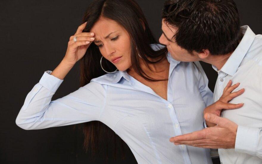 Šeimos drama: vyras liguistai pavydus