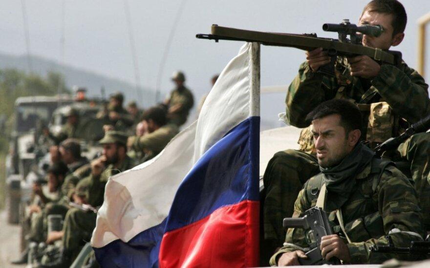 Karą Gruzijoje matęs rusų žurnalistas: Rusija tam kruopščiai pasiruošė