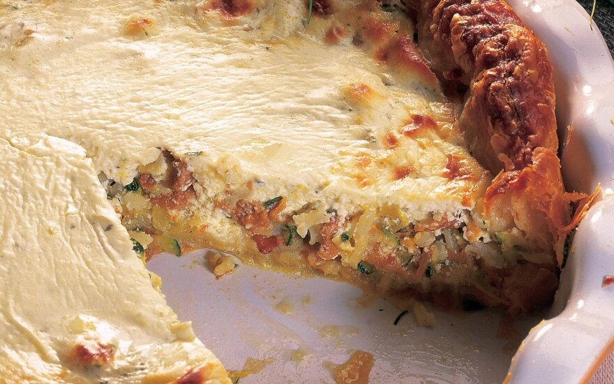 Soti grybų pica