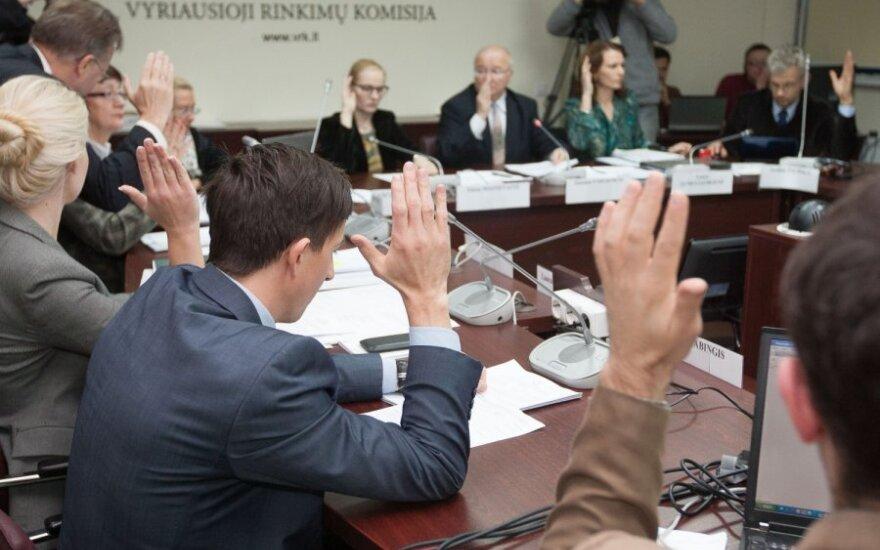 Ketvirtadienis - paskutinė diena partijoms įteikti parašų rinkimo lapus dėl rinkimų į EP
