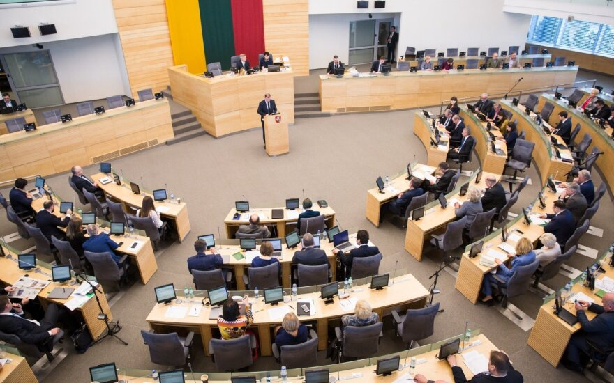 In the Seimas
