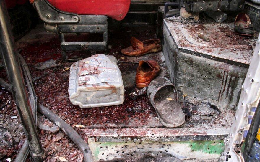 Kabule driokstelėjus trims sprogimams, žuvo vienas žmogus, dar 17 sužeisti
