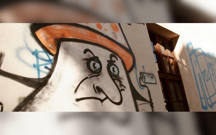 V.Juozapaitis kyla į kovą prieš grafitininkus