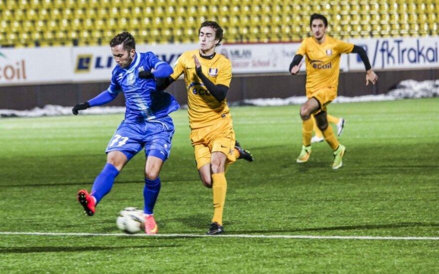 Trečiame Lietuvos futbolo čempionato ture – net du derbiai