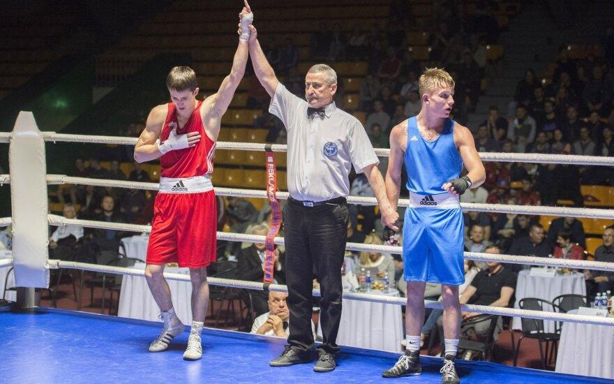 A. Šociko turnyre triumfavo du Lietuvos boksininkai