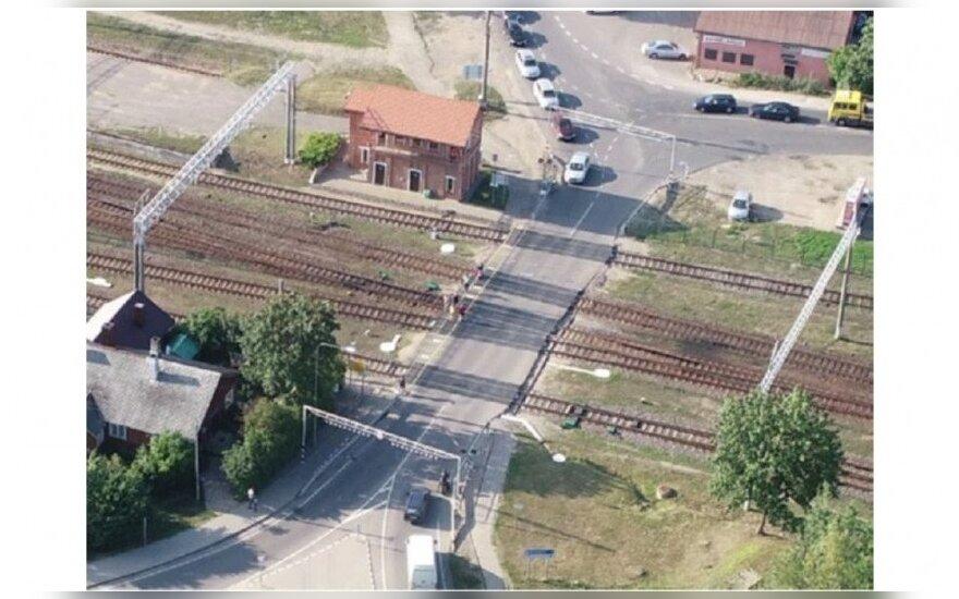 Lentvaryje bus rekonstruota geležinkelio pervaža