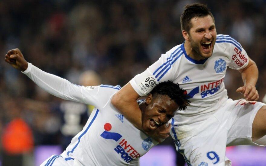 """""""Olympique"""" futbolininkų džiaugsmas"""