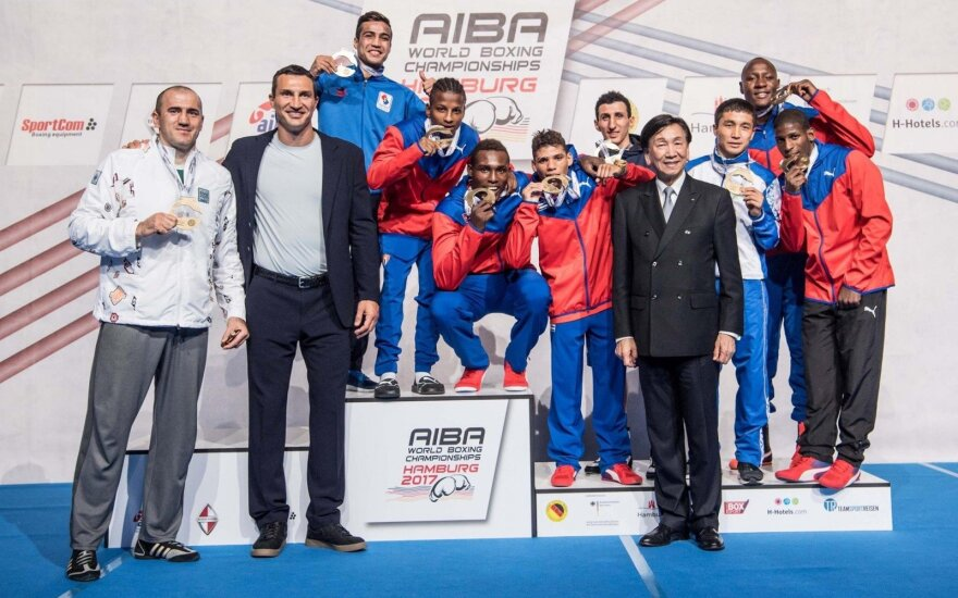 Pasaulio bokso čempionai (AIBA.org nuotr.)