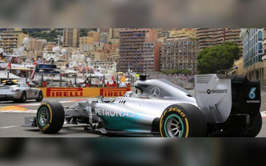 Nico Rosbergas Monako trasoje